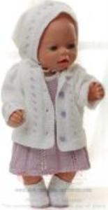 DollKnittingPatterns 0152D SOPHIA - Kleid, Unterhose, Jacke, Kopftuch und Schuhe-(Deutsch) | Crafting | Knitting | Other