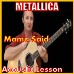 Learn to play Mama Said by Metallica | Movies and Videos | Educational