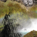 Sahalie Falls Oregon Series | Crafting | Cross-Stitch | Wall Hangings