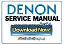 Denon AVR-4520CI 4520 network receiver Service Manual | eBooks | Technical