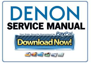 First Additional product image for - Denon AVR-X4000 S900CI Service Manual