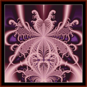 fractal 24 cross stitch pattern by cross stitch