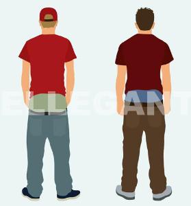 white teens with sagging pants (pfb-011)