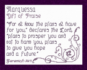 name blessings - marquessa
