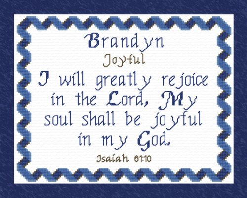 First Additional product image for - Name Blessings - Brandyn