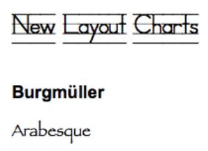 burgmuller: arabesque