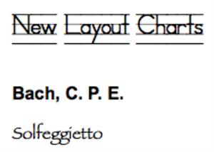 bach, c.p.e.: solfeggietto