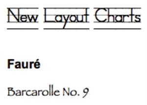 fauré: baracrolle no. 9