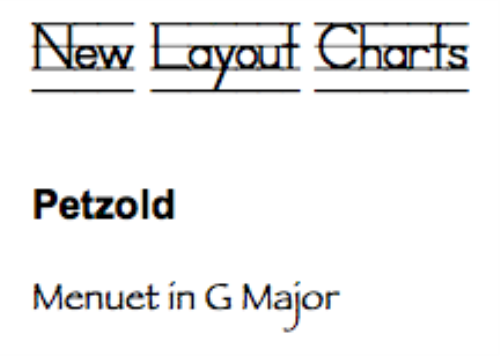 First Additional product image for - Petzold: Menuet in G Major