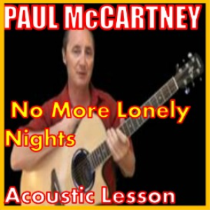 Learn to play No More Lonely Nights by Paul McCartney | Movies and Videos | Educational