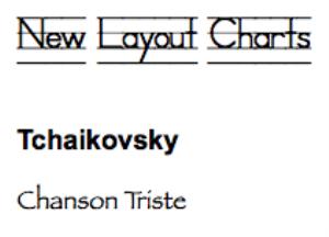 tchaikovsky: chanson triste