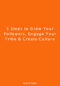 FREE DOWNLOAD: 5 Steps to Grow Your Followers | eBooks | Business and Money