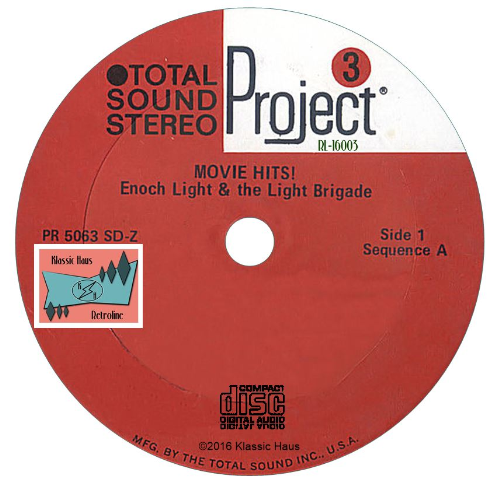Second Additional product image for - Movie Hits – Enoch Light & The Light Brigade