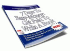 Get Paid to Write a Book | eBooks | Non-Fiction