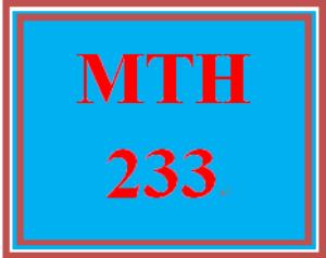 MTH 233 Week 4 DQ 4   eBooks   Education