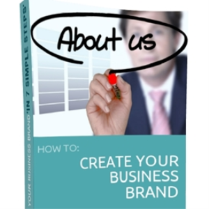 create your business brand in '7 simple steps'