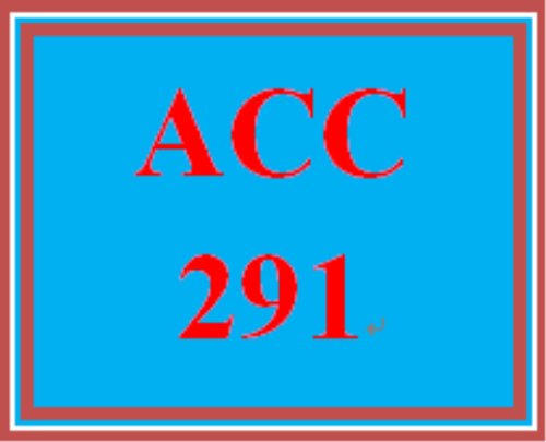 First Additional product image for - ACC 291 Week 1 Revenue and Capital Expenditures – For Discussion