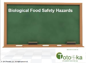 biological food safety hazards