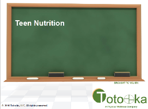 Teen nutrition | Other Files | Presentations