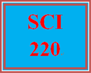SCI 220 Week 1 participation First Message | eBooks | Education
