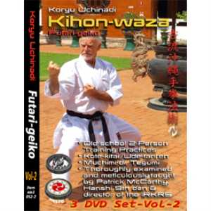 Patrick McCarthy Vol-2 (3 Video Set) Kihon-waza - Futari-geiko | Movies and Videos | Training