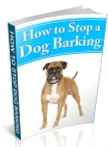 stop a dog barking