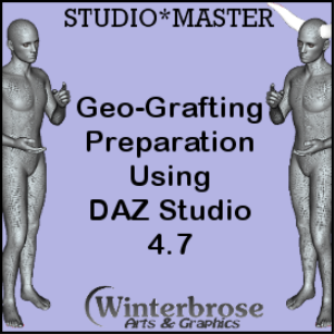 geo-grafting preparation using daz studio