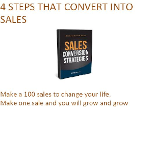 4 Steps That Convert Into Sales | eBooks | Internet