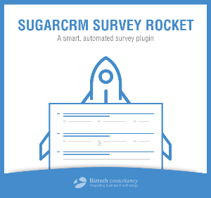 sugarcrm survey rocket plugin