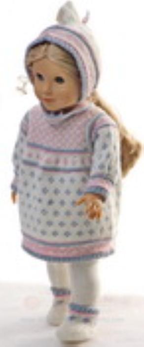 Second Additional product image for - DollKnittingPatterns 0153D MARTHE - Jurk, muts, broek, Sokjes-(Nederlands)