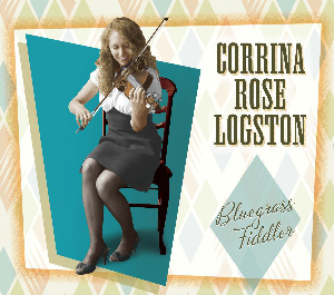 "cd-278 corrina rose logston ""bluegrass fiddler"""