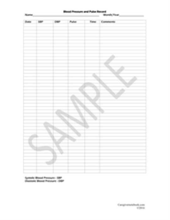 First Additional product image for - Caregiver Notebook Forms