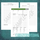 Caregiver Notebook Forms   Documents and Forms   Other Forms