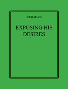 exposing his desires
