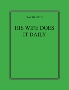 his wife does it daily