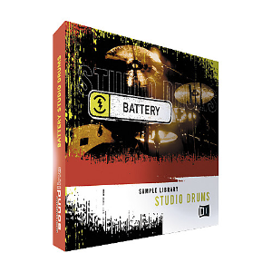 native instruments studio drums battery recharge sample cd
