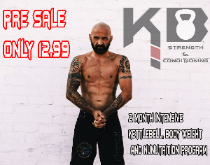 kb strength and conditioning pre sale