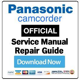 Panasonic HX-A1M Camcorder Service Manual | eBooks | Technical