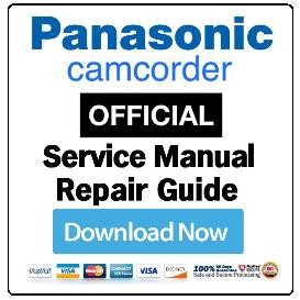 Panasonic VDR-D310 Camcorder Service Manual   eBooks   Technical