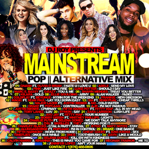 Dj Roy Main Stream Pop & Alternative Mix | Music | Alternative
