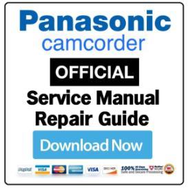 Panasonic HC-W850 W858 W850M Camcorder Service Manual   eBooks   Technical