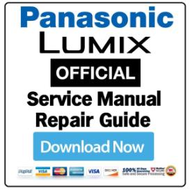 Panasonic Lumix DMC-FX8 Digital Camera Service Manual | eBooks | Technical