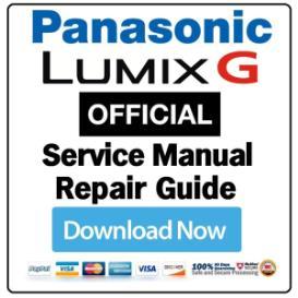 Panasonic Lumix DMC-G10 G10K G10W Digital Camera Service Manual   eBooks   Technical