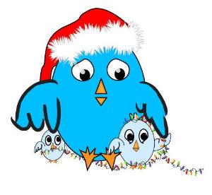 christmas tweet graphics