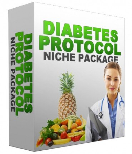 diabetes protocol niche site package