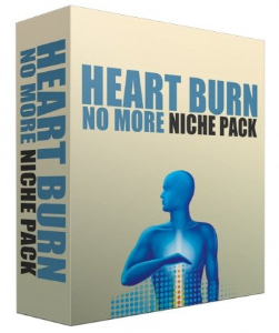 heart burn no more complete niche site pack