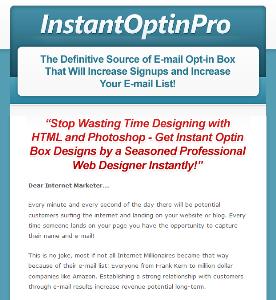 instant optin pro