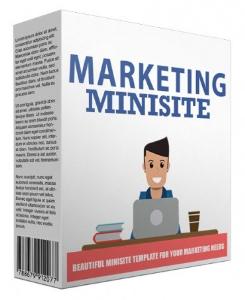 marketing minisite template v42016