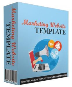 marketing website template v43