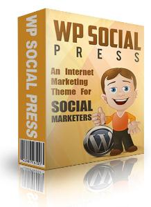 wp social media press theme